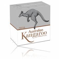 1/4 oz Silber PP Austr. Känguru Perth Mint 999.9/1000 Silber (2016)