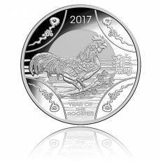 Australien 30$ Jahr des Hahn - 1 kg Silber PP 2017