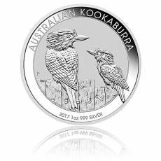 Austral. Kookaburra 2017 1 Unze 999/1000 Silber