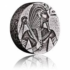 5 oz König Tut Antik-Finish Silber 999/1000 Silber (2016)