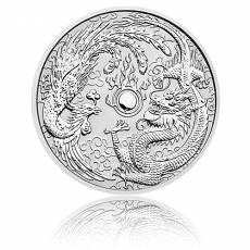 1 oz Silber Australien Perth Mint Dragon & Phoenix (2017)