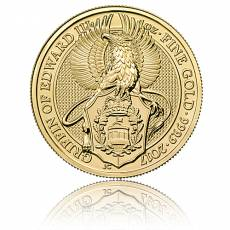 1 oz Gold Queens Beasts Griffin of Edward (2017)