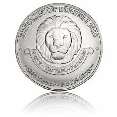1 oz Silber African Lion Burundi (2015)