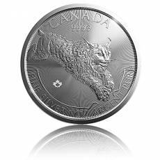 1 Unze Silber Canada Predator Serie - Luchs 2017