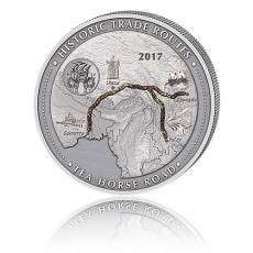 5oz Silber - Historische Handelsrouten - Teeroute 2017
