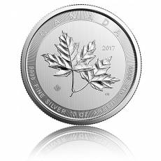 10 oz Silbermünze Magnificent Maple Leaf 2017