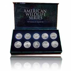 10 x 1 Unze Silber American Wildlife Serie