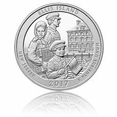 5 oz Silber US- Mint New Jersey Ellis Islands (2017)