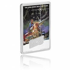 1 Oz Silber Star Wars Das Imperium schlägt zurück Posters - zweites Motiv 2017