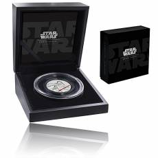 2 Oz Silbermünze Star Wars Darth Vader HighRelief 2017