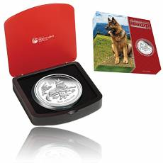 Austr. Lunar Hund 1 Kg Silber Polierte Platte 2018