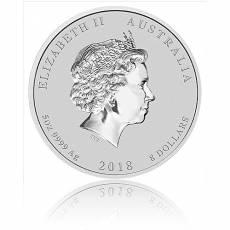 Australien Lunar Hund 5oz Silber (2018)