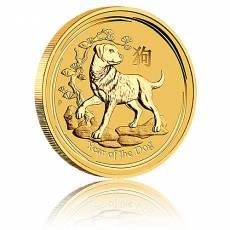 Australien Lunar Hund 1/4oz Gold (2018)