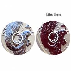 1 oz Silbermünze Australien Perth Mint Dragon & Phoenix Mint ERROR (2017)
