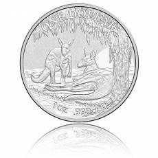 Austral. Känguru RAM 1 Unze 999/1000 Silber (2018)