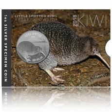 Neuseeland Kiwi  1 Unze Silber  Blister (2018)