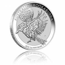 1 Unze Silbermünze Austral. Kookaburra 2018