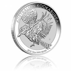 Austral. Kookaburra 10 Unzen 999/1000 Silber 2018