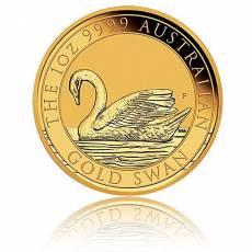 1 Unze Goldmünze Australien Schwan (2017)
