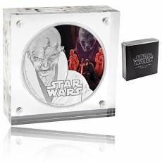 1 Unze Silbermünze Star Wars PP The Last Jedi Snoke 2017 drittes Motiv